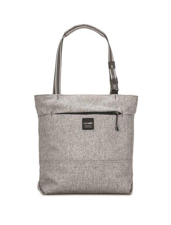 Torba damska antykradzieżowa Slingsafe LX200 Tweed Grey