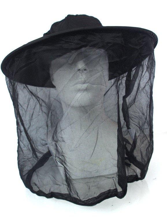 Składana moskitiera na głowę z kapeluszem marki BrettSchneider