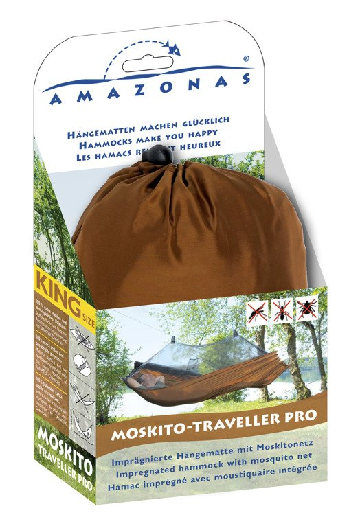 Lekki hamak Mosquito Traveller Pro z moskitierą