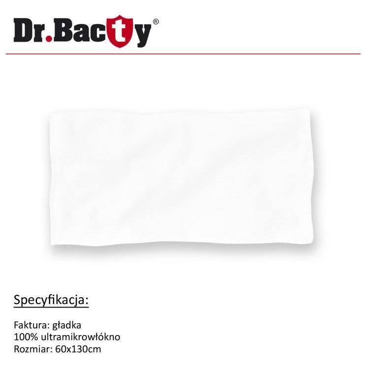 Ręcznik reklamowy 60x130 Dr. Bacty