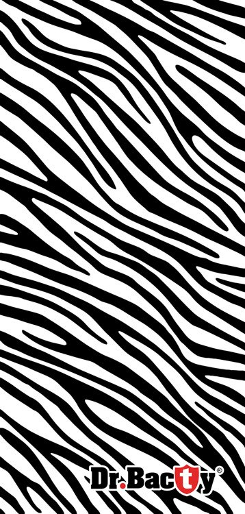Ręcznik treningowy Dr.Bacty L, Zebra