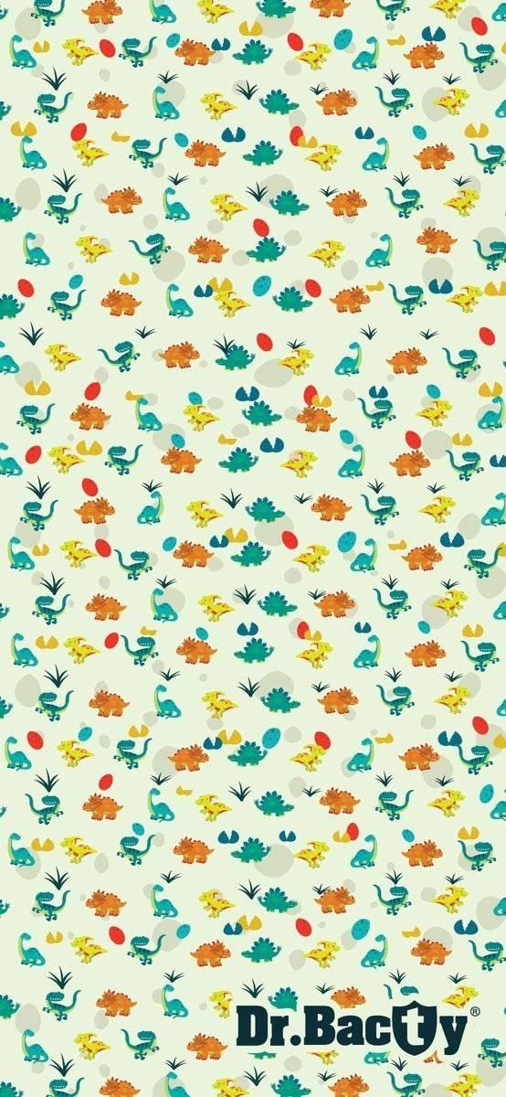 Dr.Bacty ręcznik szybkoschnący dla dziecka 60x130 - Dinozaury