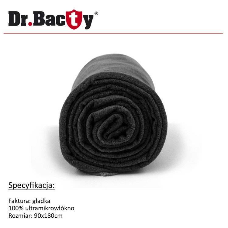 Ręcznik kąpielowy 90x180 - czarny