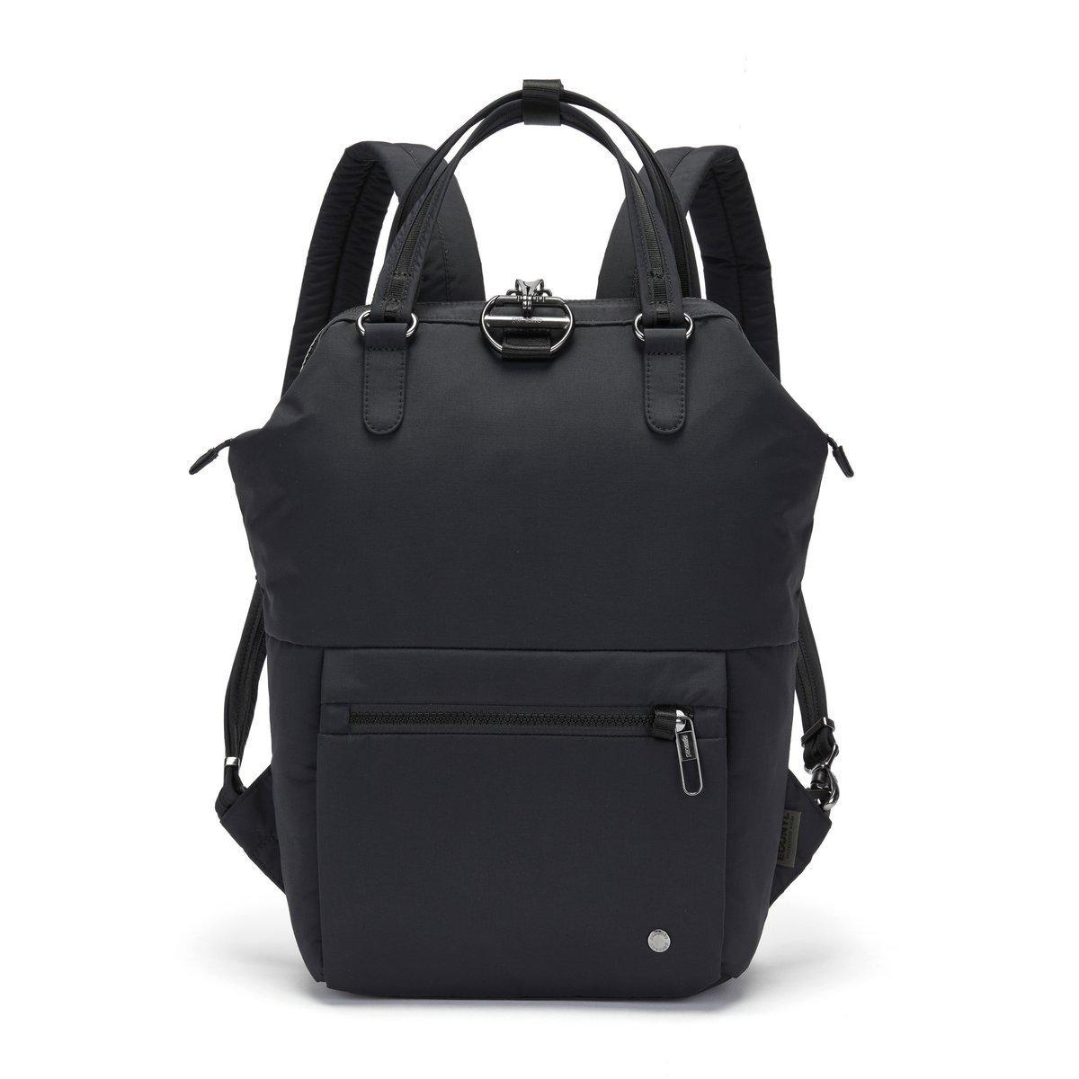 Plecak damski Pacsafe Citysafe CX Econyl Black