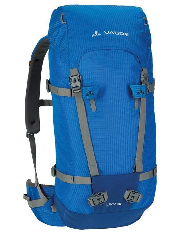 42323ce892e2e Wytrzymały plecak wspinaczkowy VAUDE Croz 38+8 Niebieski | Outlet ...