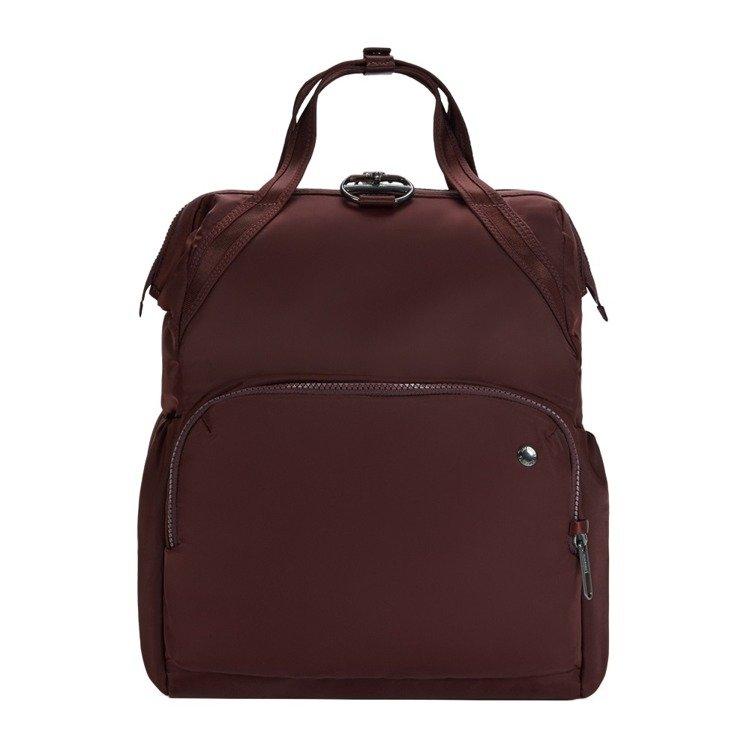 Plecak antykradzieżowy Pacsafe Citysafe CX 17L bordowyy