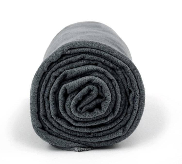 Dr.Bacty Ręcznik szybkoschnący Basic 43x90 - grafitowy