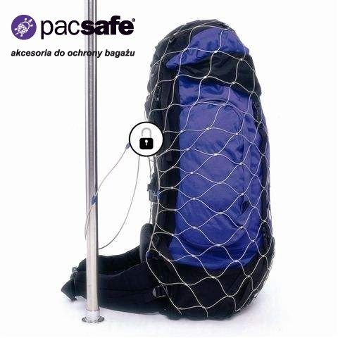 a9671c405223 Siatka na plecak do zabezpieczenia bagażu Pacsafe 85l (M) na bagaż ...