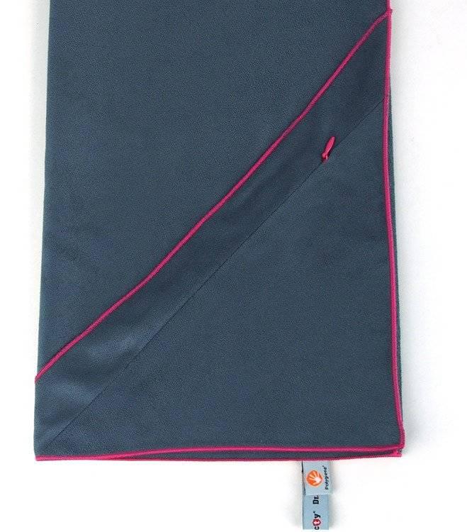 Ręcznik szybkoschnący na siłownię 40x90 - grafitowy
