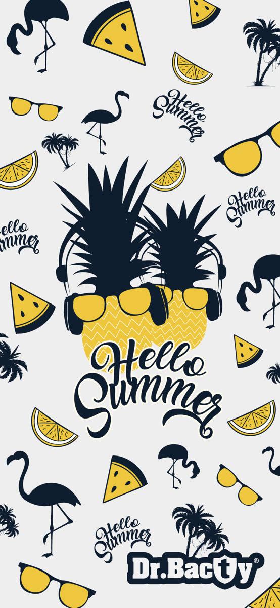 Ręcznik plażowy 70x140 - Hello Summer