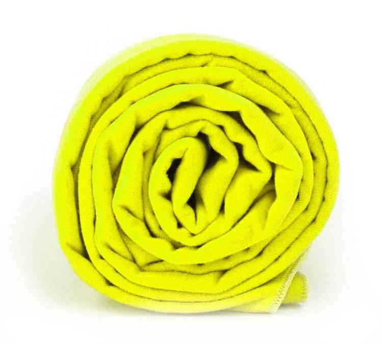 Dr.Bacty ręcznik szybkoschnący Basic 60x130 - neon żółty