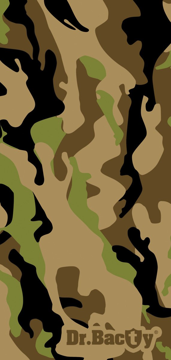Dr. Bacty Training Towel L, Woodland Camo