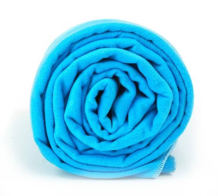 ręcznik na siłownię Dr.Bacty - niebieski