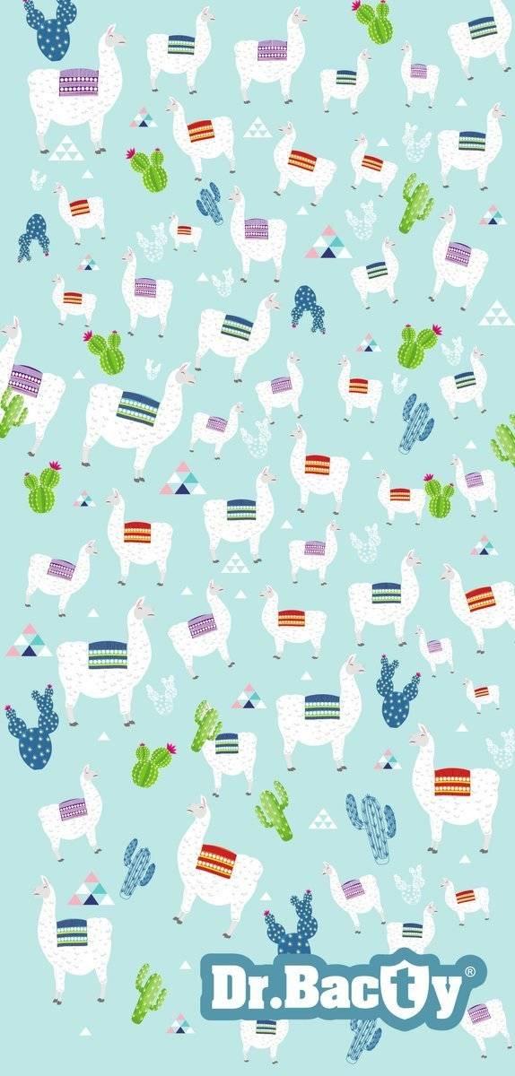 Ręcznik szybkoschnący Dr.Bacty 60x130 cm - Alpaki