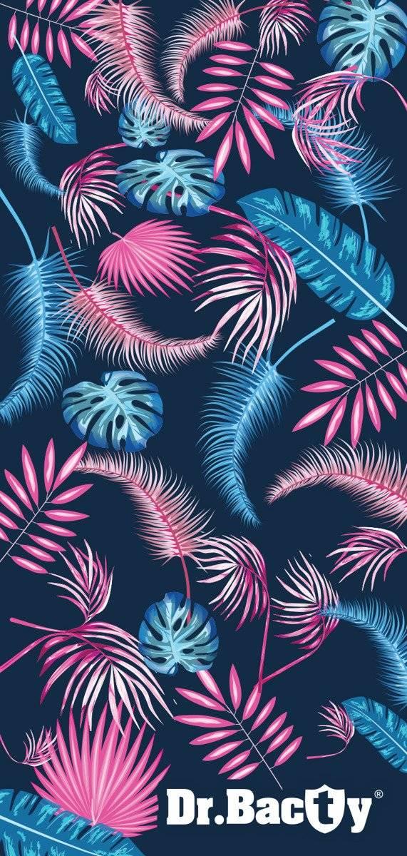 Dr.Bacty ręcznik szybkoschnący na plażę 60x130 - Exotic