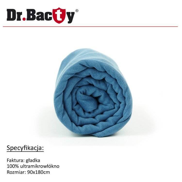 Ręcznik kąpielowy 90x180 Dr. Bacty - granatowy