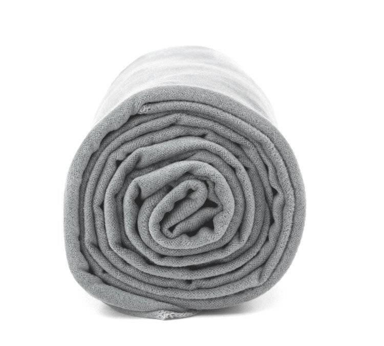 Ręcznik na siłownię Dr. Bacty - szary