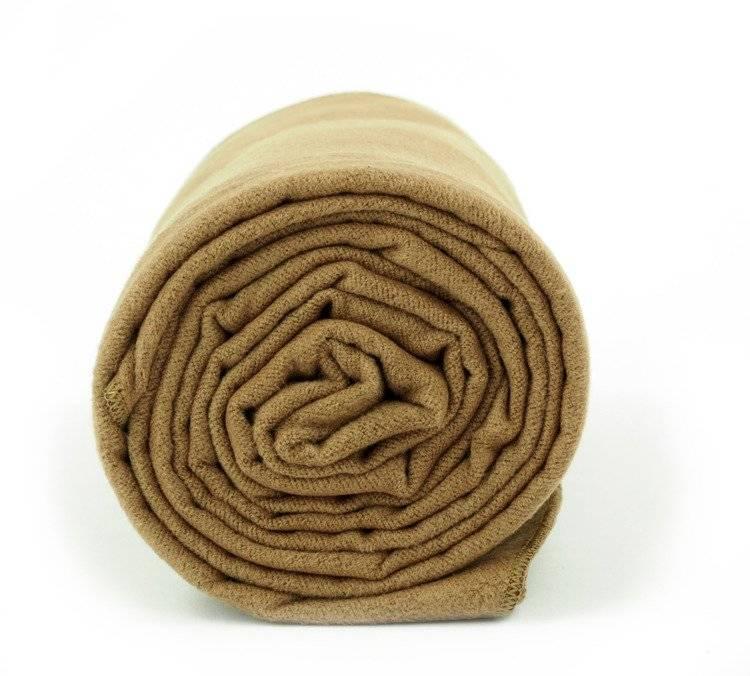 Ręcznik na siłownię Dr. Bacty - brązowy