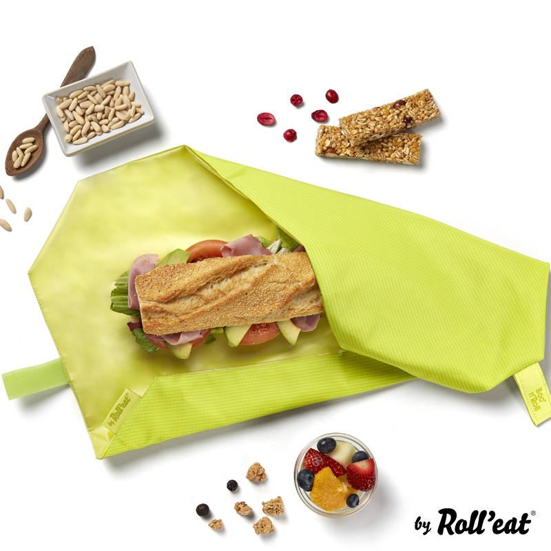 Opakowanie na śniadanie Roll'n'Eat żółty