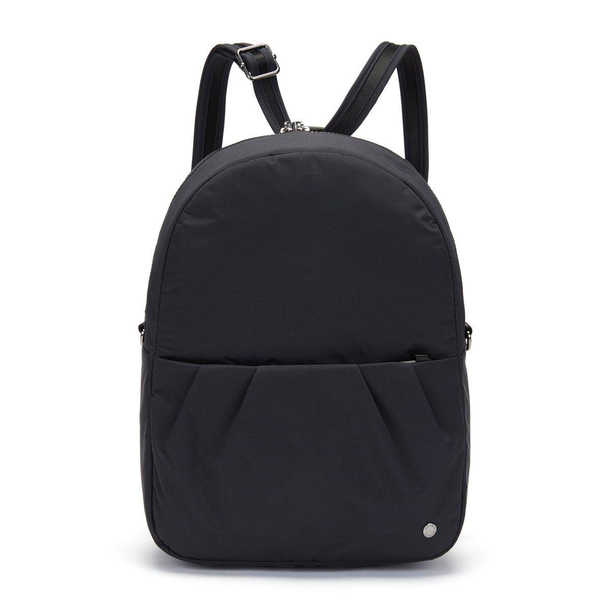 2w1 Torebka / Plecak antykradzieżowy Pacsafe Citysafe CX Econyl Black
