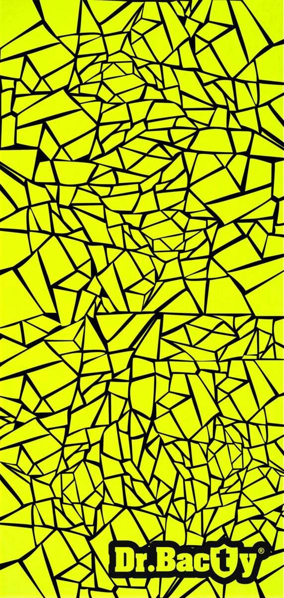 Dr.Bacty Ręcznik szybkoschnący 60x130 - Geometric Neon
