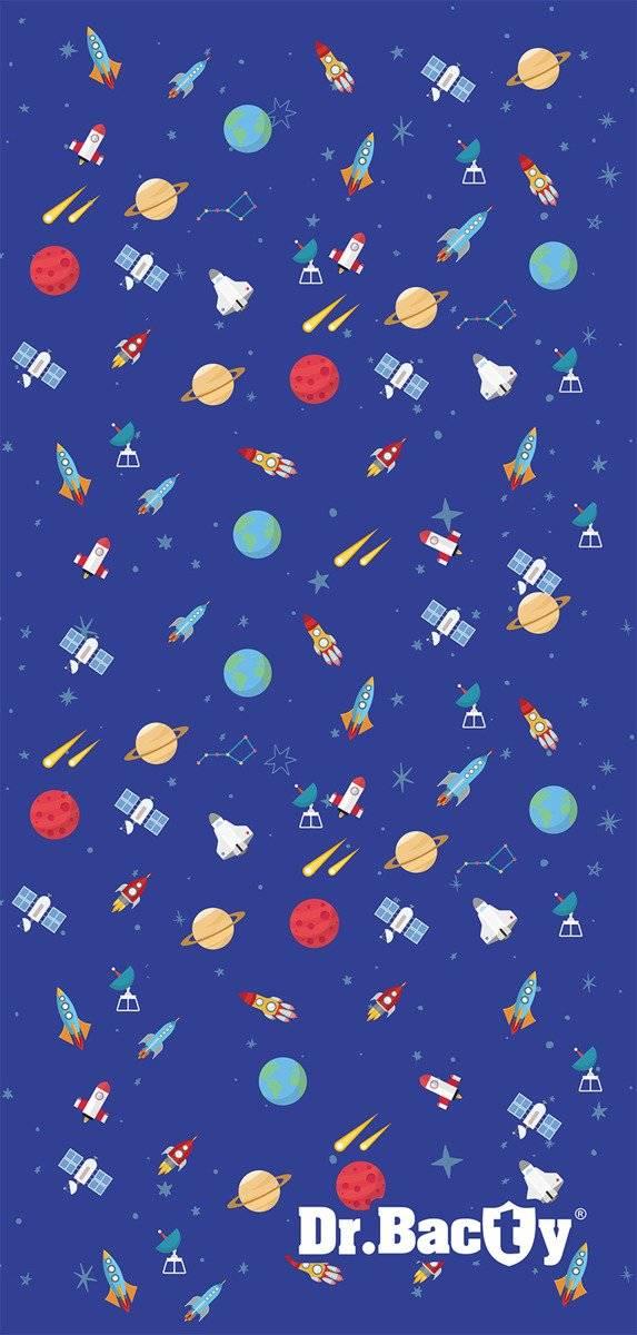 Ręcznik szybkoschnący dla dzieci Dr.Bacty - Kosmos