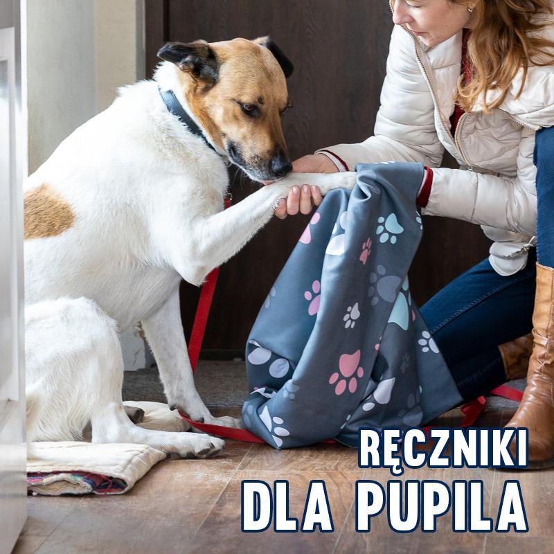 Ręczniki dla pupila